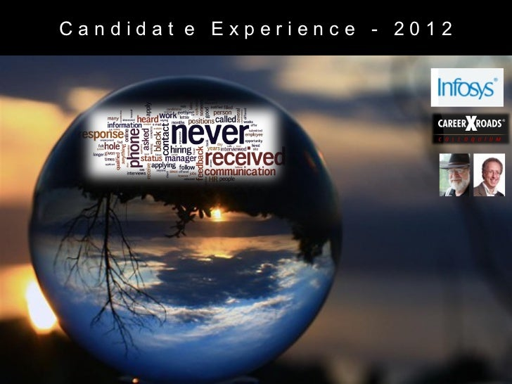 Candidat e Experience - 2012