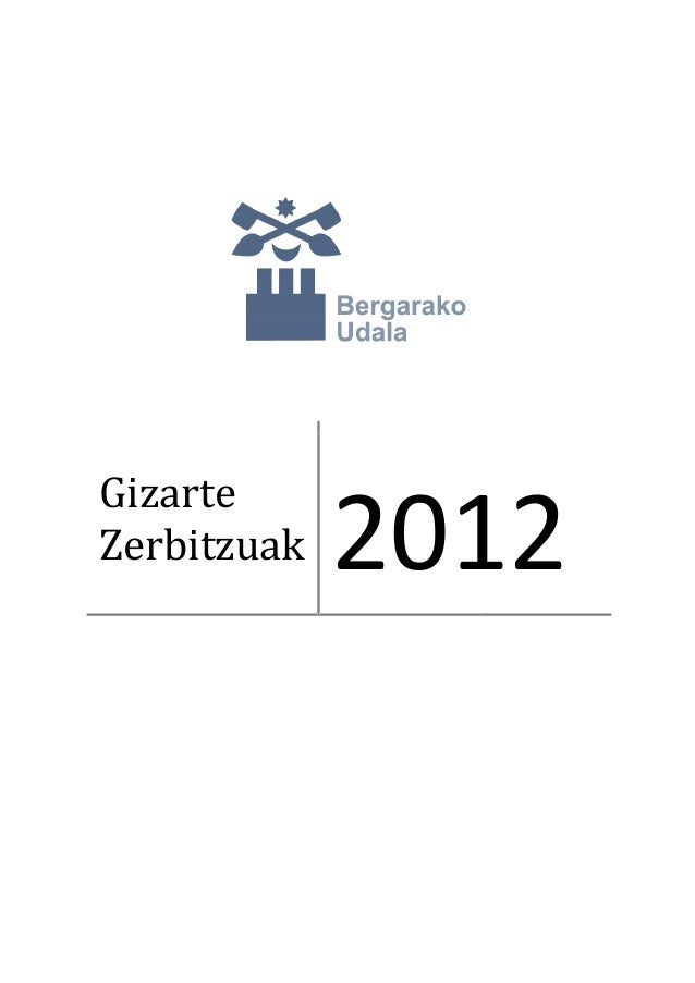 GizarteZerbitzuak 2012