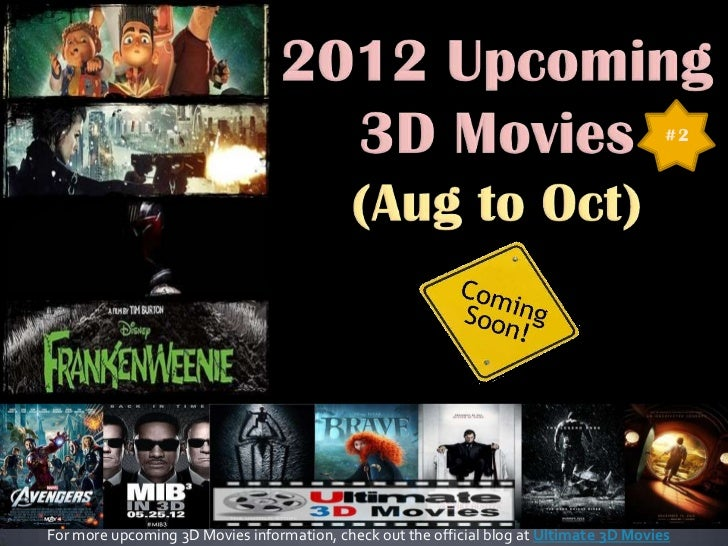 #2For more upcoming 3D Movies information, check out the official blog at Ultimate 3D Movies