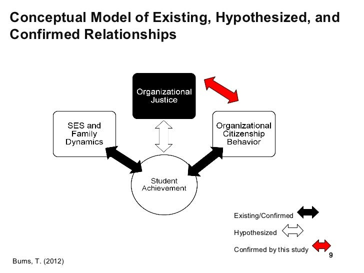 the relationships between organizational colleagues