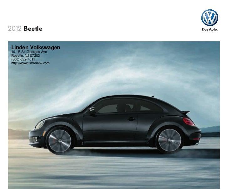 2012 Volkswagen Beetle For Sale NJ | Volkswagen Dealer New Jersey