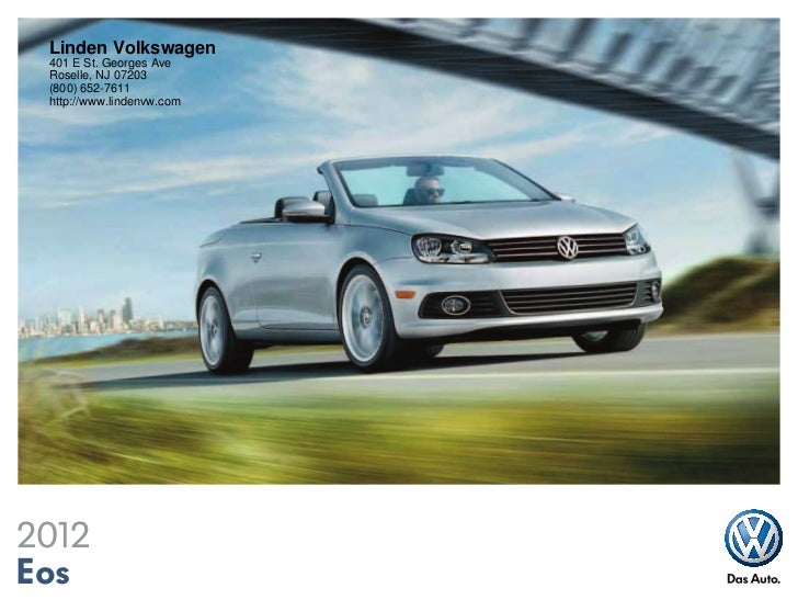 2012 Volkswagen Eos For Sale Nj Volkswagen Dealer New Jersey