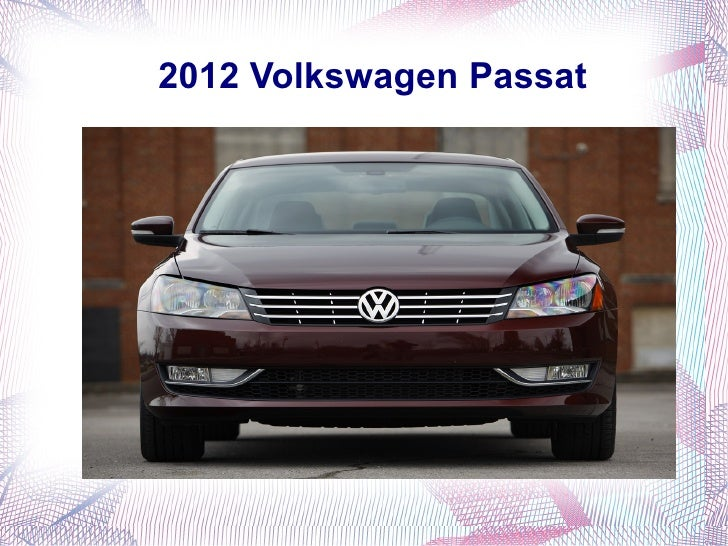 2012 Volkswagen Passat in India