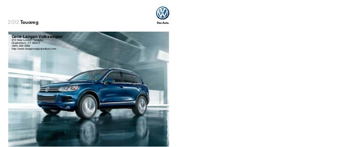 2012 Volkswagen Touareg For Sale CT | Volkswagen Dealer Near Hartford