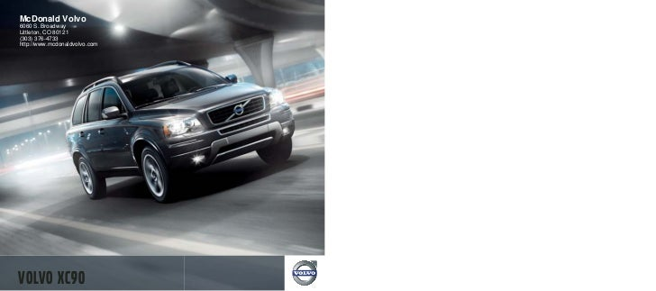 2012 Volvo XC90 For Sale CO | Volvo Dealer Colorado