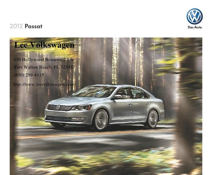 2012 Volkswagen Passat for Sale FL | Volkswagen dealer near Pensacola
