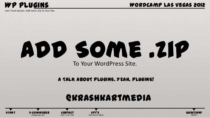 Add Some .ZIP to your WordPress Site