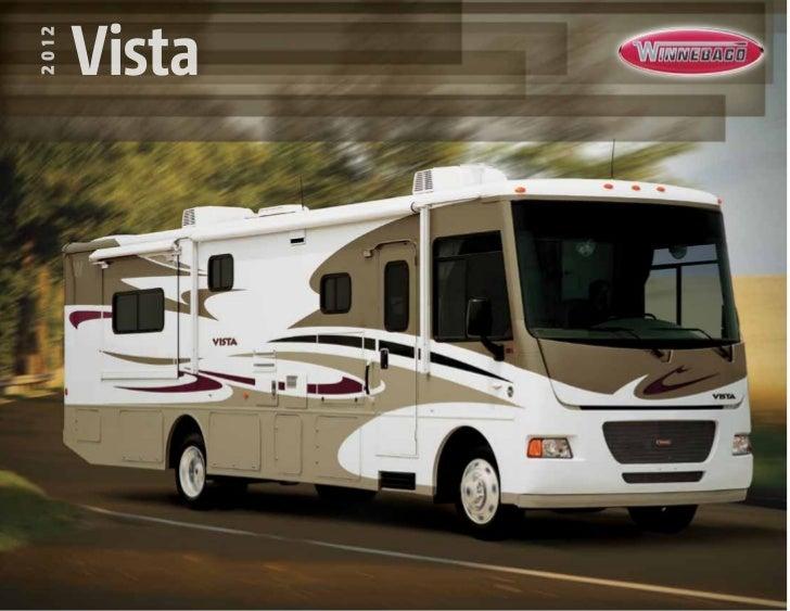 2012 Winnebago Vista Class A Motorhome