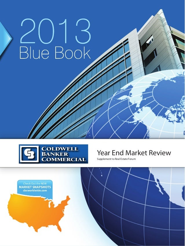 2012Blue Book                      Year End Market Review                      Supplement to Real Estate Forum  Check out ...