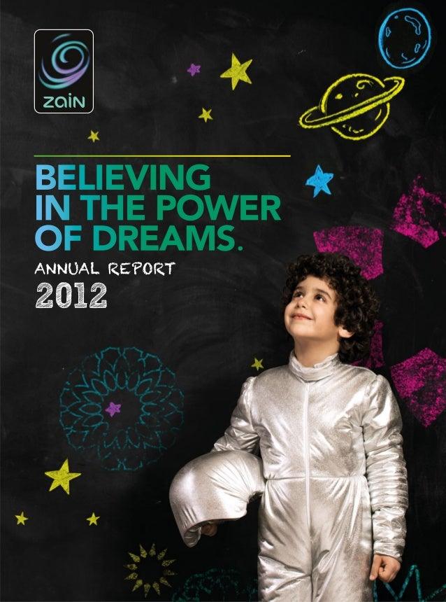 Zain 2012 Annual Report