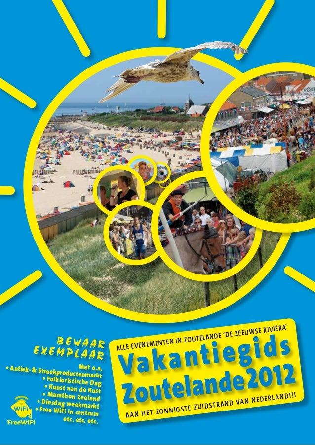 2012 zoutelande vakantiegids