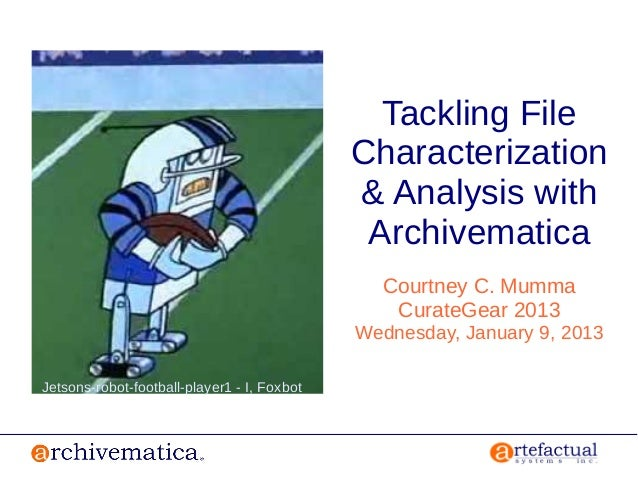 Tackling File Characterization and Analysis in Archivematica
