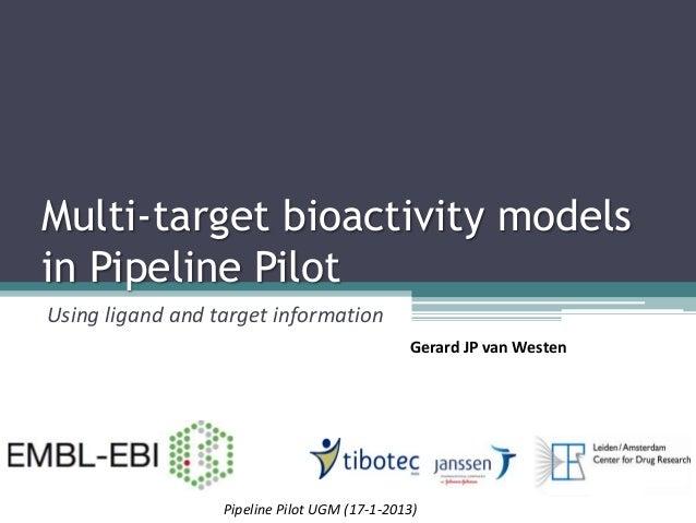 Multi Target Bioactivity Models in Pipeline Pilot