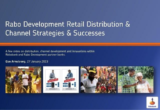 Rabo Development Retail Distribution & Channel Strategies & Successes