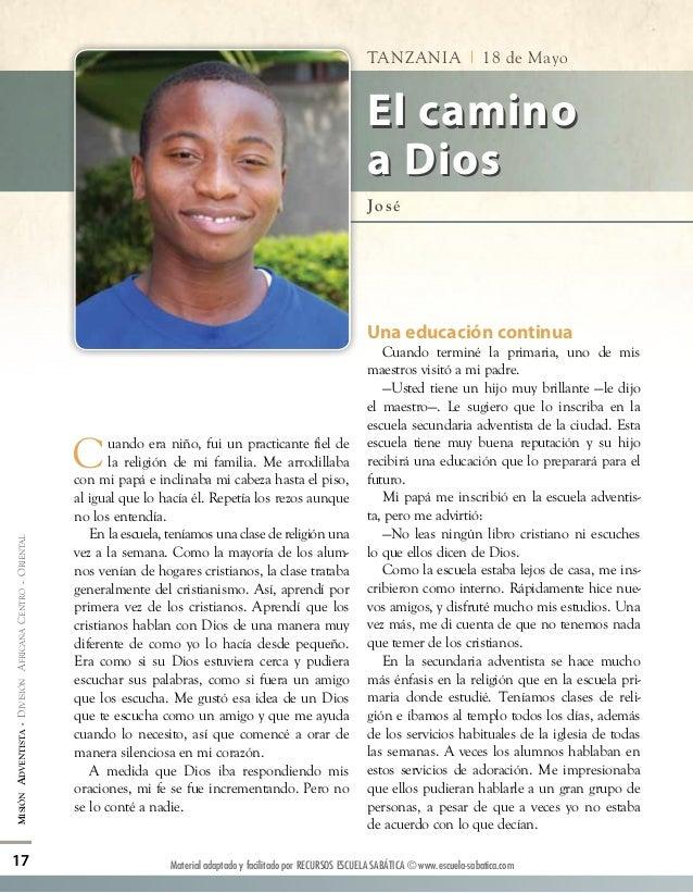 Informe Misionero Mundial para el 18/05/2013