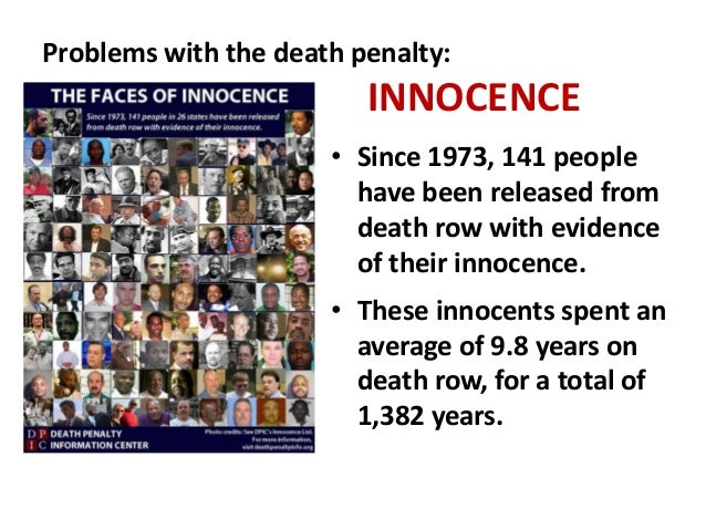 Innocence Cases  Death Penalty Information Center