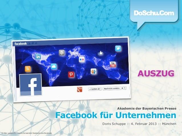 AUSZUG                                                                              Akademie der Bayerischen Presse       ...