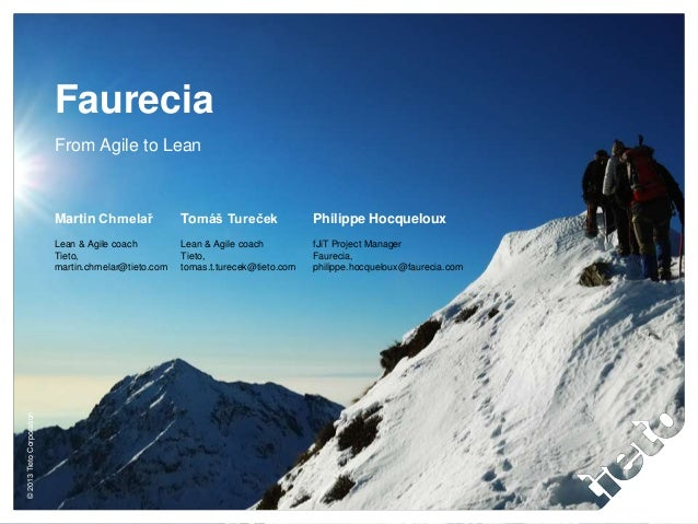Case Study: Faurecia - from Agile to Lean