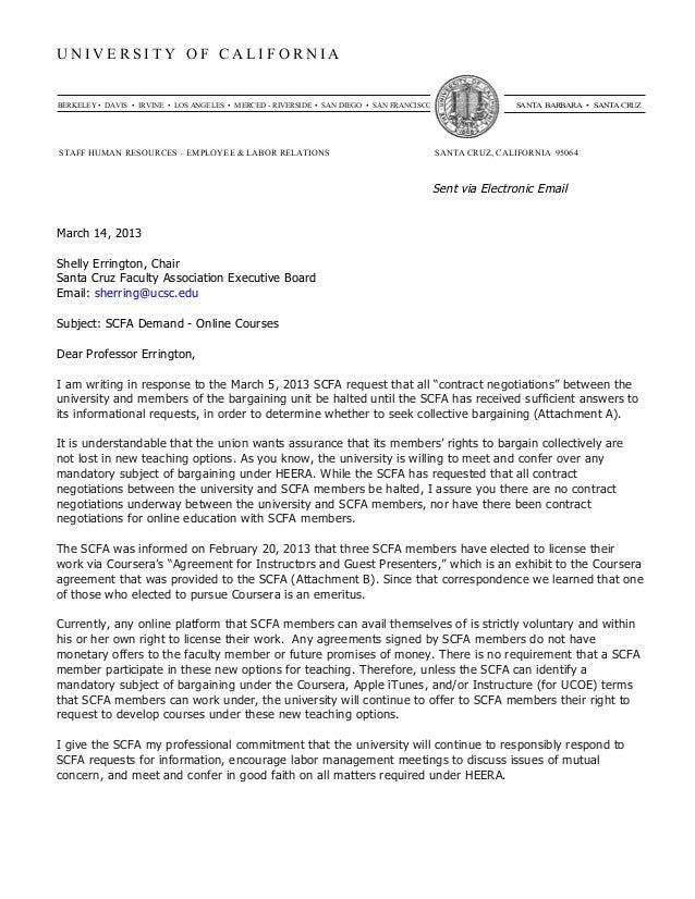 Respuesta SCFA de la Universidad Demanda On Line Courses . MOOC