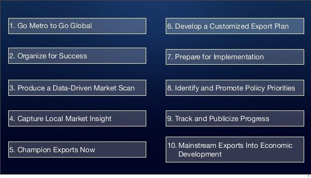 Brookings metropolitan business plan