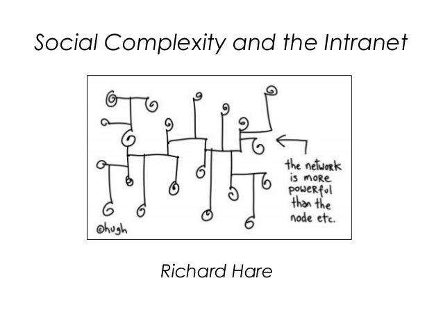 Social complexity and the intranet