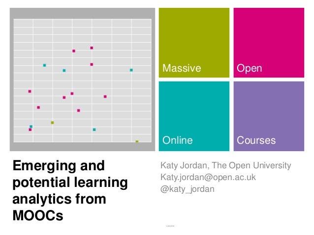 Massive           Open                     Online            CoursesEmerging and         Katy Jordan, The Open University ...