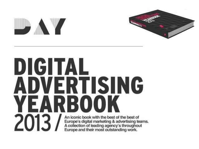 New initiative by IAB Europe & partnersDIGITAL ADVERTISING YEARBOOKAn iconic book with only the very best work ofEurope's ...
