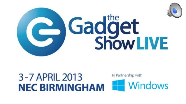 Gadget Show Live - Smartphone Creativity (April 2013)