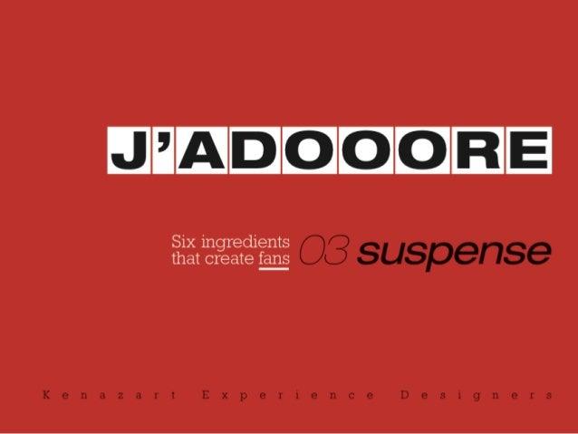 J'ADOOORE - Le suspense par Patricia Gallot-Lavallée