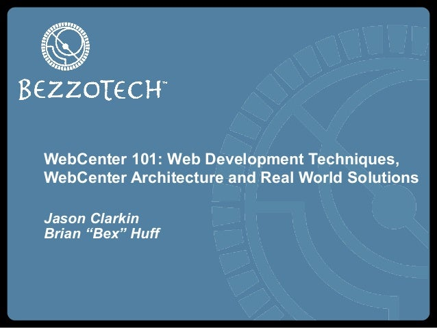WebCenter Content & Portal Methodology Deep Dive with Case Studies