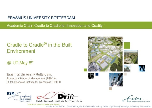 Cradle to Cradle in the Built Environment