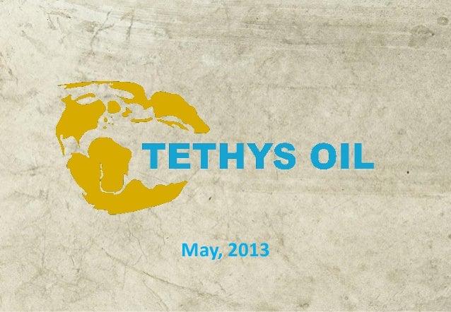 Tethys Oil Interim report Q1 2013
