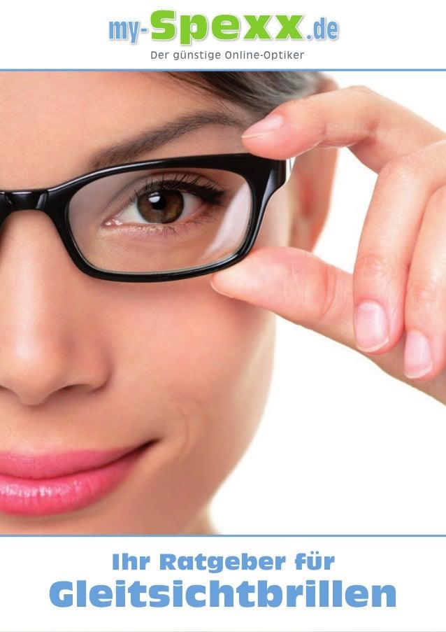 Ihr Ratgeber für Gleitsichtbrillen