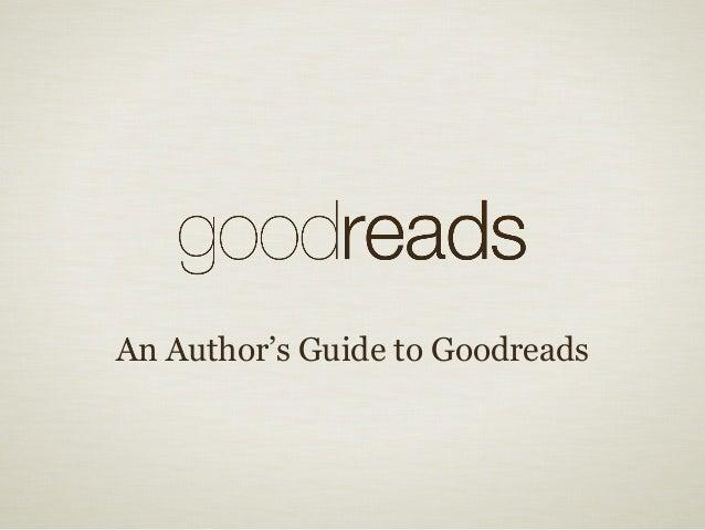 uPublishu 2013 Goodreads Presentation