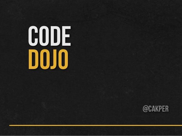 Code Dojo