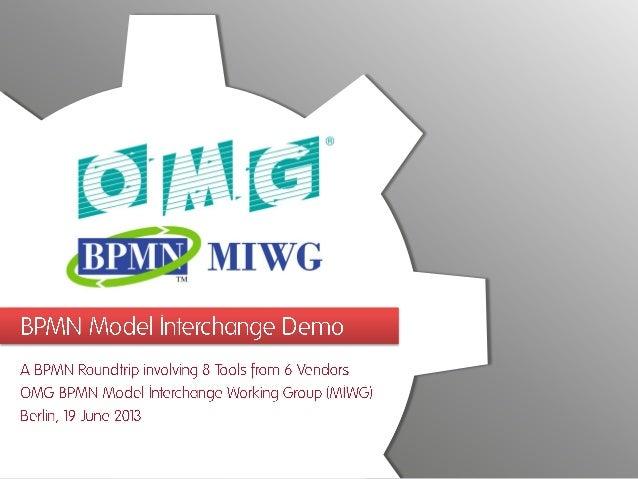 2013-06-19 - BPMN Model Interchange Demo