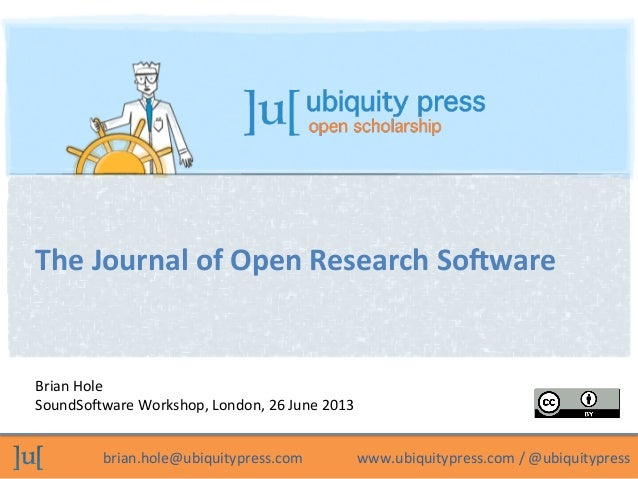 The Journal of Open Research Software