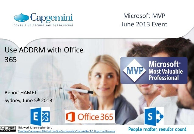 Use AADRM (Right Management Services) with Office 365