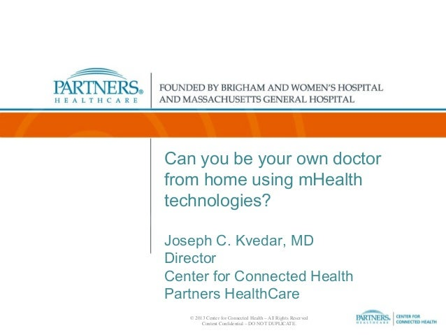 Can you be your own doctor from home using mHealth technologies?
