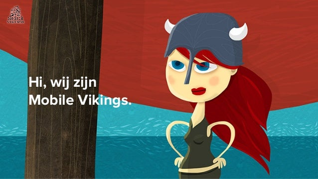 Hi, wij zijn Mobile Vikings.
