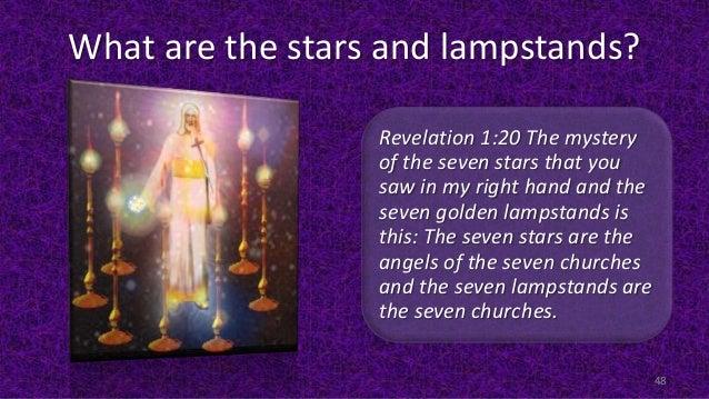Bildresultat för Revelation 1:20