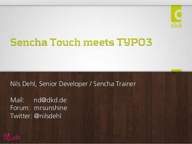 Sencha Touch Meets TYPO3 CMS