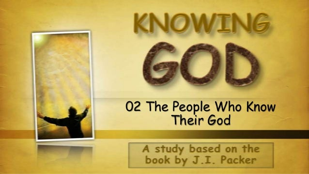 02 The People Who Know Their God