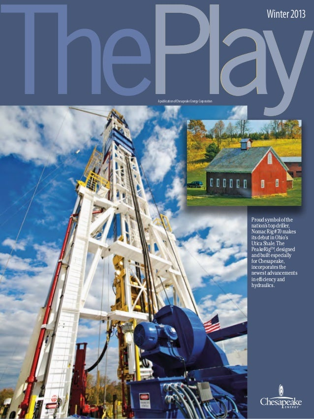 """Chesapeake Energy's Winter 2013 Issue of """"The Play"""""""
