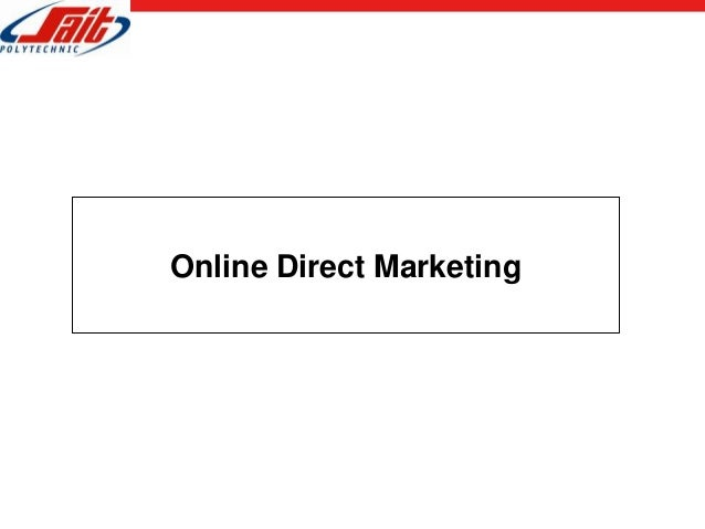 Online Direct Marketing
