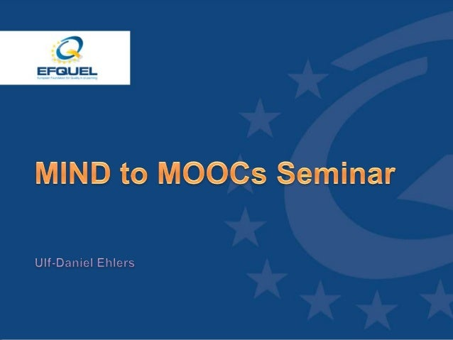 MOOCs - How to use them in post secondary education.