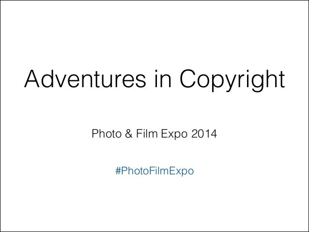 2014 Photo and Film Expo presentation