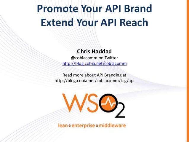 Promote Your API Brand and Extend Your API Reach