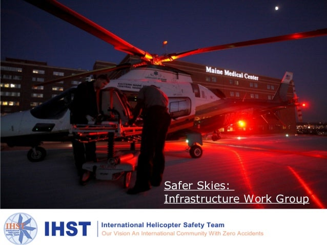 TITLE                     Safer Skies:                     Infrastructure Work GroupSafer Skies: Infrastructure Work Group