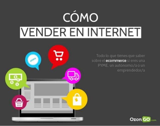 Guía sobre como vender en Internet